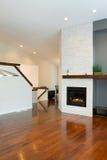 Дизайн интерьера самомоднейшей живущей комнаты Стоковые Фото