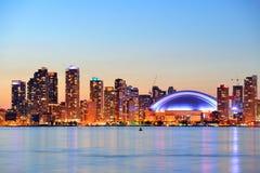 Городской пейзаж Торонто Стоковое Изображение RF