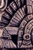 玛雅雕塑 库存图片