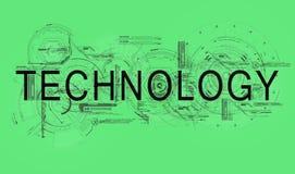 技术 图库摄影
