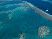 障碍极大的礁石 免版税图库摄影