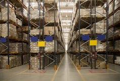 Αποθήκη εμπορευμάτων αποθήκευσης Στοκ εικόνες με δικαίωμα ελεύθερης χρήσης