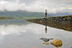 θηλυκός λιμενοβραχίονας Στοκ εικόνα με δικαίωμα ελεύθερης χρήσης