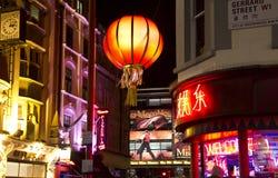 伦敦中国城镇 免版税库存照片