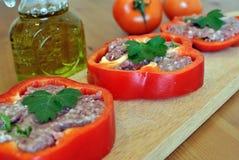 Γεμισμένα πιπέρια Στοκ Εικόνες