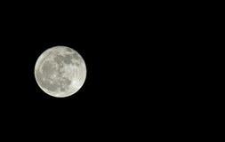 Φεγγάρι με το διάστημα αντιγράφων Στοκ Εικόνες