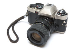 照相机老反射 免版税库存图片