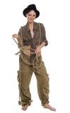 девушка ковбоя Стоковая Фотография RF