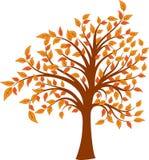 διάνυσμα δέντρων απεικόνισης Στοκ Εικόνες