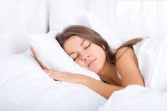 睡美人 免版税库存照片
