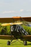 Сумеречница тигра самолет-биплана год сбора винограда Стоковая Фотография RF