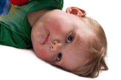 关闭婴孩 免版税库存照片