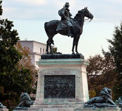 美国格兰特雕象纪念国会山庄华盛顿特区 免版税库存照片