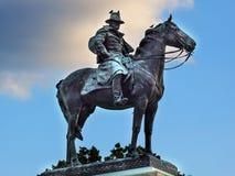 美国格兰特雕象内战纪念国会山庄华盛顿特区 免版税库存照片