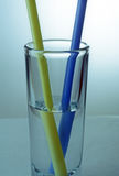 水,轻的折射 免版税图库摄影