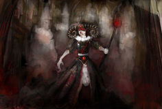 Ведьма с привидениями Стоковые Фотографии RF
