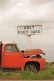 最佳的汽车使用了 库存照片