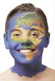 краска стороны Африки Стоковые Изображения