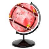 Сфера от кредитных карточек как глобус Стоковое Изображение RF