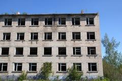 Εγκαταλειμμένο κτήριο Στοκ εικόνα με δικαίωμα ελεύθερης χρήσης
