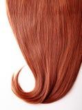 红色头发 免版税库存图片