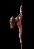 波兰人舞蹈演员 免版税库存照片