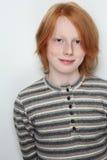 青少年的男孩 免版税库存照片