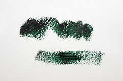 Σκούρο πράσινο κτύπημα Στοκ Φωτογραφίες