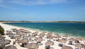 海滩在巴西 免版税库存照片