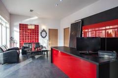 红色办公室 免版税库存图片
