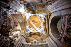 希腊教堂 库存图片