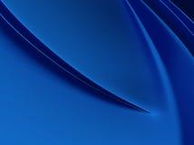 典雅的蓝色金属背景 库存图片