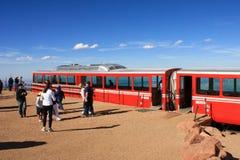Μέγιστος σιδηρόδρομος βαραίνω λούτσων Στοκ Εικόνα