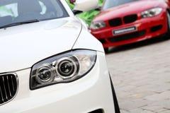 Автомобили для сбывания Стоковые Фото