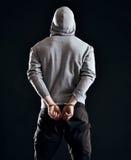 Συνέπεια του εγκλήματος Στοκ Εικόνες