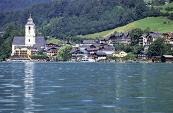австрийское село Стоковое фото RF
