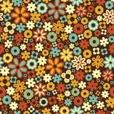 向量无缝的花纹花样背景 免版税库存照片