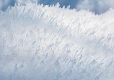 Предпосылка заморозка крупного плана Стоковая Фотография RF