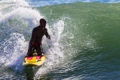 Волна лыжи личной охраны Стоковые Фото