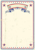 Плакат США пакостный Стоковые Изображения