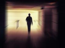 Страх или усилие принципиальной схемы Стоковые Фото