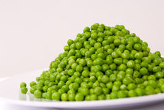 зеленые горохи Стоковое Изображение