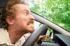 сердитый водитель Стоковое Изображение RF