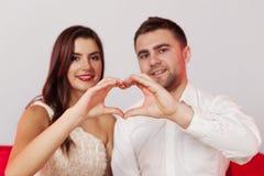 新夫妇 免版税库存照片