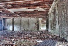 被放弃的老大厦 图库摄影