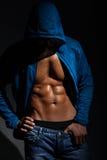 Привлекательная мужская модель Стоковые Изображения RF