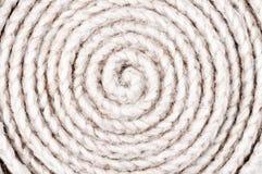 扭转的绳子背景 免版税图库摄影