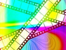 Ταινία χρώματος Στοκ εικόνα με δικαίωμα ελεύθερης χρήσης