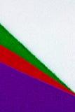 毛毡布料 免版税库存图片