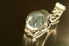 ρολόι τιτανίου Στοκ Φωτογραφίες